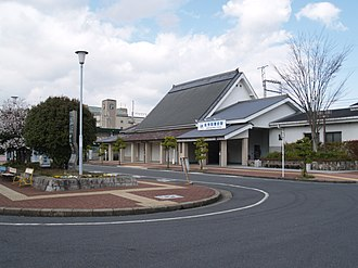 Unebigoryōmae Station - The west entrance of Unebigoryōmae Station