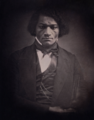 George T. Downing - Frederick Douglass in about 1847. Douglass and Downing were close associates throughout their careers.