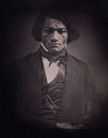 Douglass in 1847, around 29 years of age