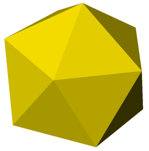 Icosahedral honeycomb