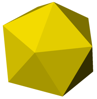 Icosahedral honeycomb - Image: Uniform polyhedron 53 t 2