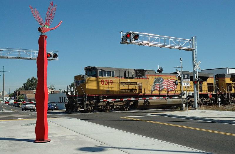 Union Pacific Railroad Auburn WA USA
