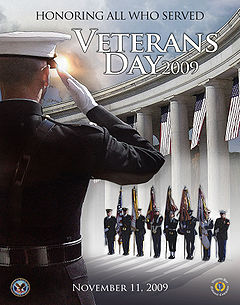 United States Department of Veterans Affairs Veterans Day 2009 poster.jpg