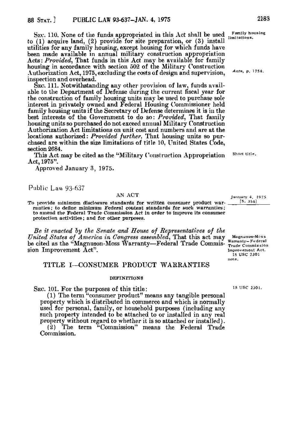Page:United States Statutes at Large Volume 88 Part 2 djvu
