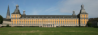 University of Bonn - The Electoral Palace, the main building of the University of Bonn