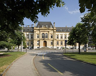 University of Neuchâtel - Image: Universite neuchatel