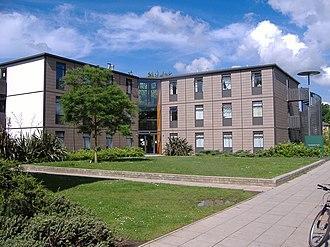 University of Nottingham Halls of Residence - One of the detached blocks of Cavendish Hall.