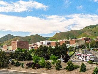 University of Utah Hospital - The University of Utah Health Sciences medical campus.