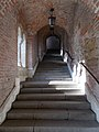 Up, covered Jezsuita Stairs, Fisherman's Bastion, 2016 Budapest.jpg