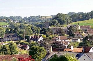 Uplyme Human settlement in England