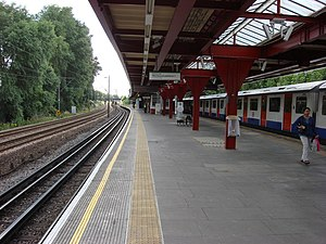 Upminster Bridge tube station - Image: Upminster Bridge tube station 6