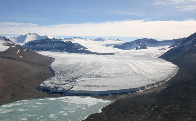 Victoria Glacier, Antarctica