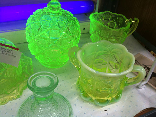 Uranium Glass Collection