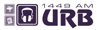 University Radio Bath - Image: Urb Logo White 300