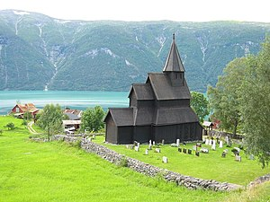 Urnes Stave Church - Image: Urnes Stave Church 1