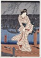 Utagawa Hiroshige - Evening on the Sumida river - Google Art Project.jpg