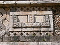 Uxmal - Quadrangulo de las Monjas -Nordpalast Porticus 2.jpg