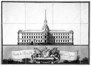 Vincenzo Brenna - Brenna's original 1797 drawing