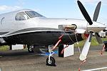 VH-FMM Pilatus PC-12-47E Factory Demonstrator (6485866531).jpg