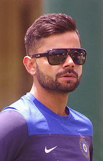 Virat Kohli Indian international cricketer