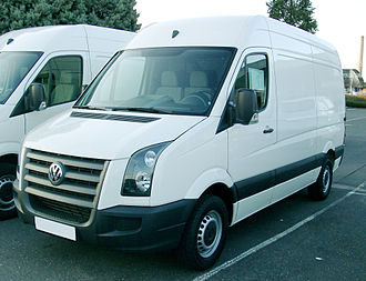 Volkswagen Crafter - Image: VW Crafter front 20071215