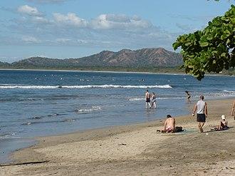 Tamarindo, Costa Rica - View of Tamarindo Beach.