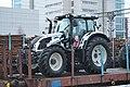 Valtra tractor on train.JPG