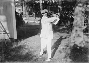 The Country Club - Francis Ouimet at The Country Club in Brookline, Massachusetts at the 1913 U.S. Open