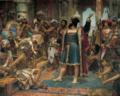 Vasco da Gama perante o Samorim de Calecute.png
