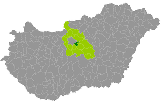 Vecsés District Districts of Hungary in Pest