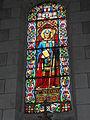 Veigné (Indre-et-Loire) église, vitrail 06.JPG