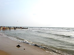 Seashore at Vailankanni