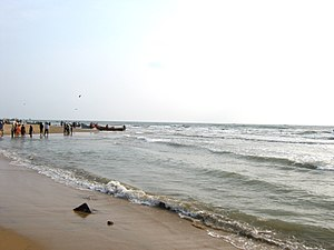 Nagapattinam district - Seashore at Nagapattinam
