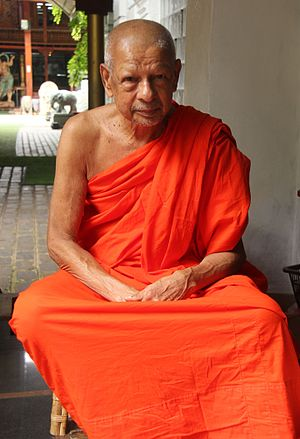 The Venerable - Ven. Galboda Gnanissara Thera.