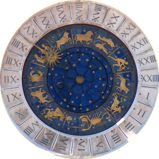 Astrology interpretation of astronomical events and stellar constellations in relation to earthly conditions