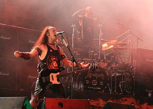 Venom live at hellfest