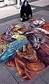"""Vera Bugatti """"Die Erzähler"""" 35Internationale Wettbewerb der Straßenmaler of Geldern.jpg"""