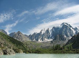 Chuya Alps - Image: Verhnee Shavlinskoe ozero