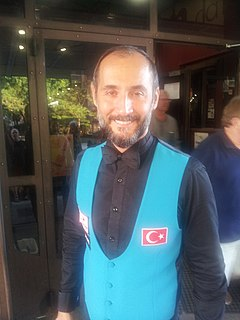 Semih Saygıner Turkish billiards player