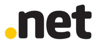 .net - Image: Verisign dotnet logo white