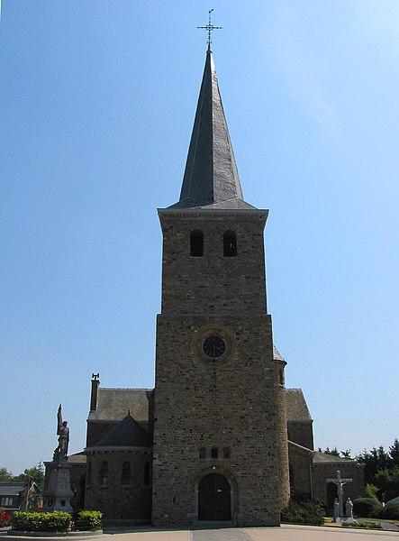 Verlaine (Belgium), the Saint Remigius' church.