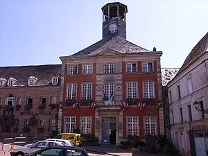 Vervins - Town hall