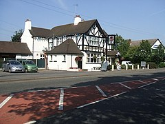 Very Patriotic 'Red White and Blue' Public House - geograph.org.uk - 236636.jpg