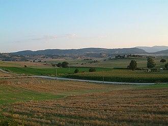 Vevi - Lignite mines south of Vevi