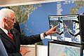 Vice President Mike Pence tours the National Hurricane Center in Miami (48135483587).jpg