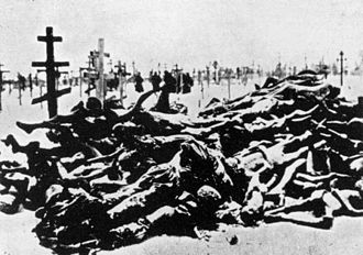 Russian famine of 1921–22 - Victims of the famine in Buzuluk, Volga region, next to Saratov