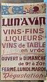 Vieiile pub pour le vin Rue de l'Horloge (Saint-Rambert-en-Bugey).jpg