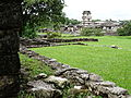 View across Plaza to The Palace - Palenque Archaeological Site - Chiapas - Mexico (15057618223).jpg