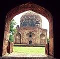 View from Baradari (behind view) - Tomb of Ali Mardan Khan.jpg