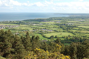 View from Tara Hill.